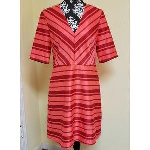NWT Banana Republic Striped A Line Dress, sz 10